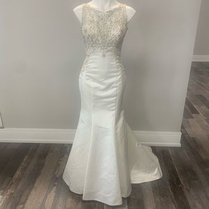 Allure 3007 Sparkle Satin Mermaid Wedding Dress